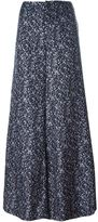 Derek Lam 10 Crosby floral wide leg trousers