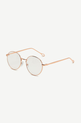 Ardene Clear Round Glasses