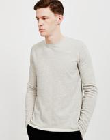 Edwin Terry Long Sleeved T-Shirt Grey