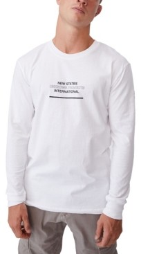 Cotton On Men's Graphic Long Sleeve T-shirt