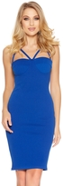 Quiz Royal Blue Cup Bodycon Strap Dress