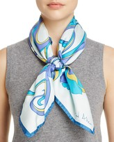 Echo Richard Allan Monterey Silk Square Scarf