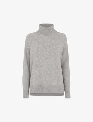 Whistles Roll-neck cashmere jumper