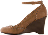 There Will Be Studs Wedge in Tan