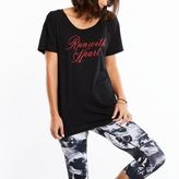 Lucy Short Sleeve Graphic Tee- Run With Heart