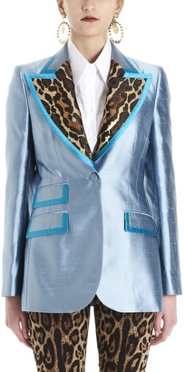 Dolce & Gabbana Animal Print Blazer