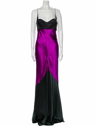Narciso Rodriguez 2018 Long Dress Green