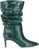 Thumbnail for your product : Paris Texas Snake Effect Ankle Boots