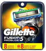 Gillette Fusion5 ProGlide Men's Razor Blades, 8 Blade Refills (Packaging May Vary)