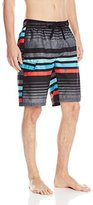 Kanu Surf Men's Echo Stripe Swim Trunks
