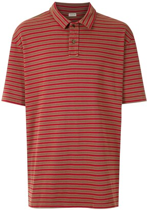 OSKLEN striped Peggy polo shirt