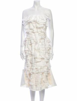 Maggie Marilyn One Sunny Day Knee-Length Dress White