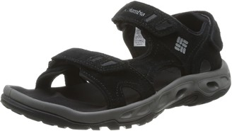 Columbia Ventmeister Mens Ankle Strap Sandals Multicolor (Black/Platinum) 11 UK (45 EU)