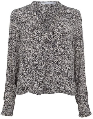 Oasis Printed Popover Top