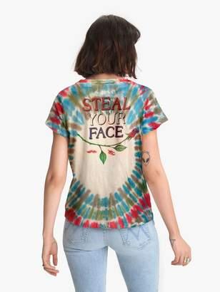 MadeWorn Grateful Dead Steal Your Face Crew Tee - Tie Dye