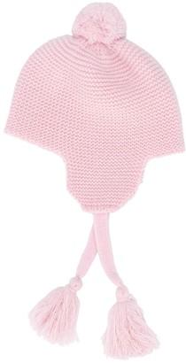 Il Gufo Tassel Tie Knitted Hat