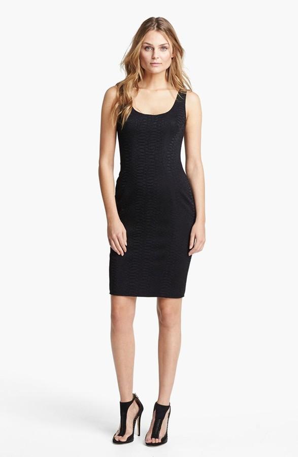 Jay Godfrey 'Ines' Python Jacquard Dress (Nordstrom Exclusive)