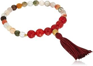 """Satya Jewelry Mala Bracelets"""" Rutilated Quartz Charm Bracelet"""