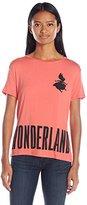 Disney Women's Alice in Wonderland High-Low T-Shirt