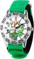 Marvel Guardian Of The Galaxy Boys Green Strap Watch-Wma000140