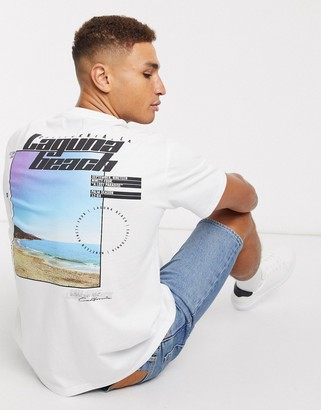 Topman t-shirt with Laguna Beach print