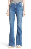 Current/Elliott Women's 'The Low Bell' High Rise Flare Jeans