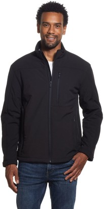 Weatherproof Men's Active Soft Shell Jacket with Sherpa Lining