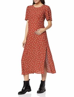 New Look Maternity Women's Spot Print Split Dress