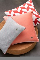 Lacoste Lalande Pillow - 12 x 18 - Deep Sea Coral