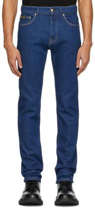 Versace Indigo Slim Icon Jeans