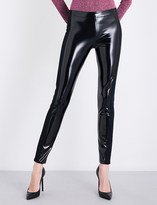 A.F.Vandevorst Skinny high-rise latex leggings
