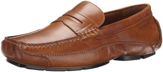 Rockport Men's Luxury Cruise Penny Tan Loafer 7 M (D)-7 M