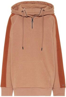 Reebok x Victoria Beckham Cotton-jersey hoodie