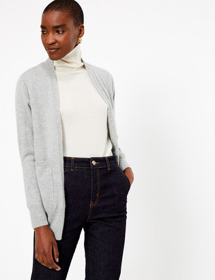Marks and Spencer Pure Cashmere Relaxed Fit Longline Cardigan