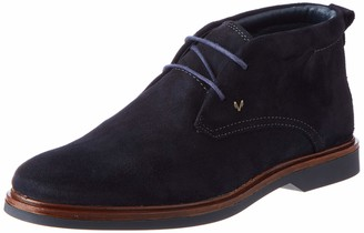 Martinelli Leather Ankle Boots Lenny 1384 Darkblue