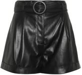 Nanushka Exclusive to Mytheresa Joyce faux leather shorts