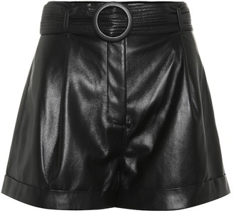 Nanushka Exclusive to Mytheresa Joyce faux leather shorts