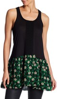 Anna Sui Starry Flower Trimmed Tunic