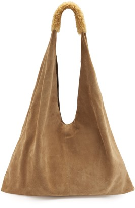 Gushlow & Cole Suede Slouch Bag