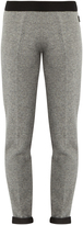 Moncler Straight-leg wool-knit trousers
