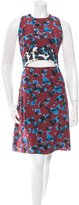 Tanya Taylor Printed Silk Dress w/ Tags