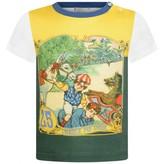 Gucci GUCCIBaby Boys Vintage Jockey Print Top