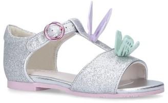 Sophia Webster Glitter Butterfly Riva Sandals