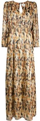 BA&SH Gull printed maxi dress