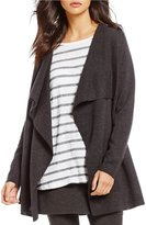 Eileen Fisher Angle Front Long Cardigan