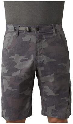Prana Stretch Zion Shorts (Gravel Camo) Men's Shorts