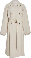 Tibi Double Breasted Belted Trench
