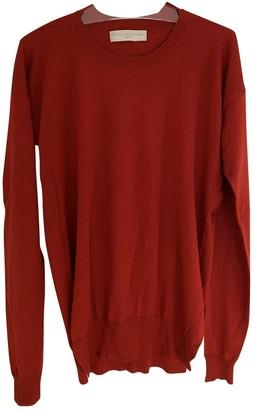 Stella McCartney Red Cashmere Knitwear
