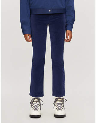 Frame Le High Straight velvet jeans