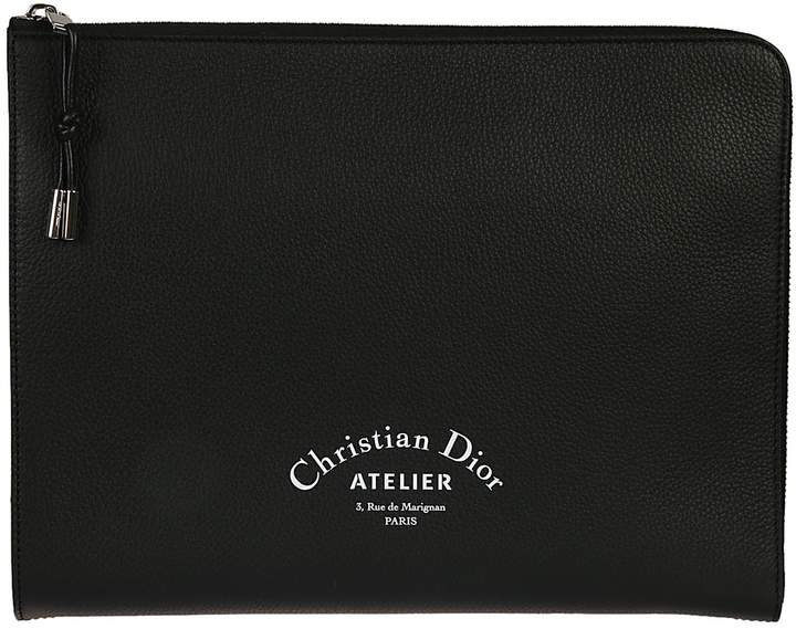 Christian Dior Printed Clutch